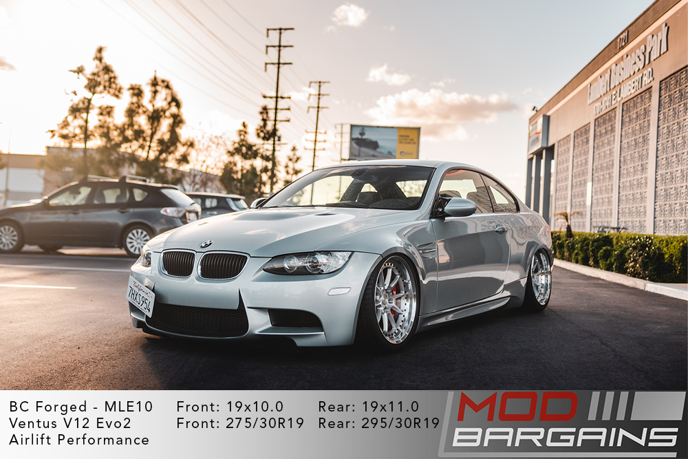 BMW E92 M3 BC Forged MLE10 Wheels Modbargains