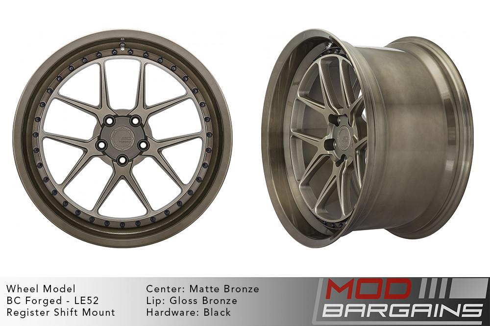 BC Forged Modular LE52 Wheels Modbargains