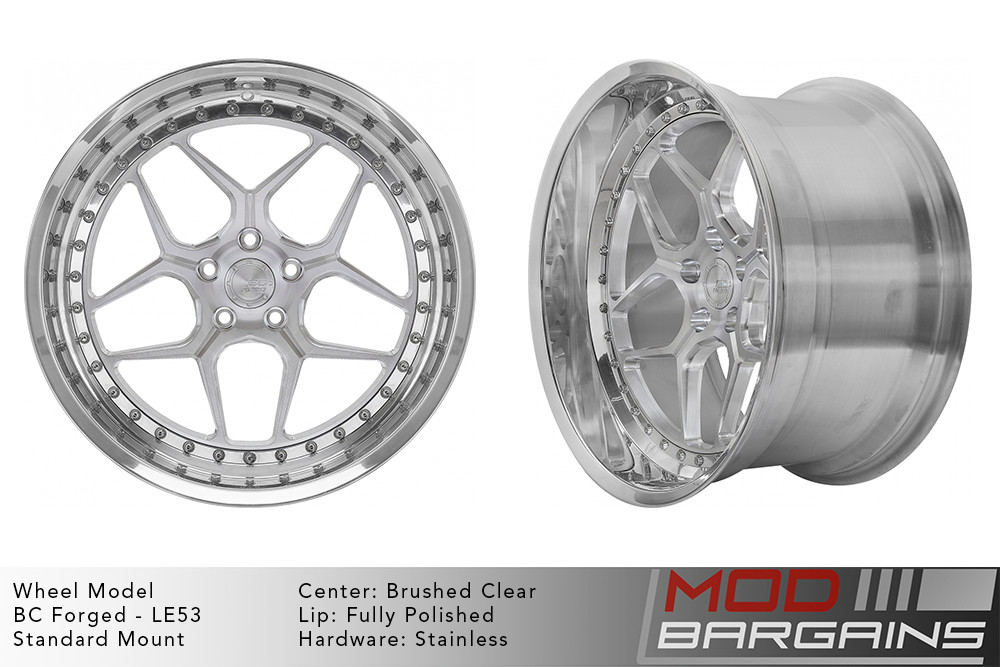 BC Forged Modular LE53 Wheels Modbargains