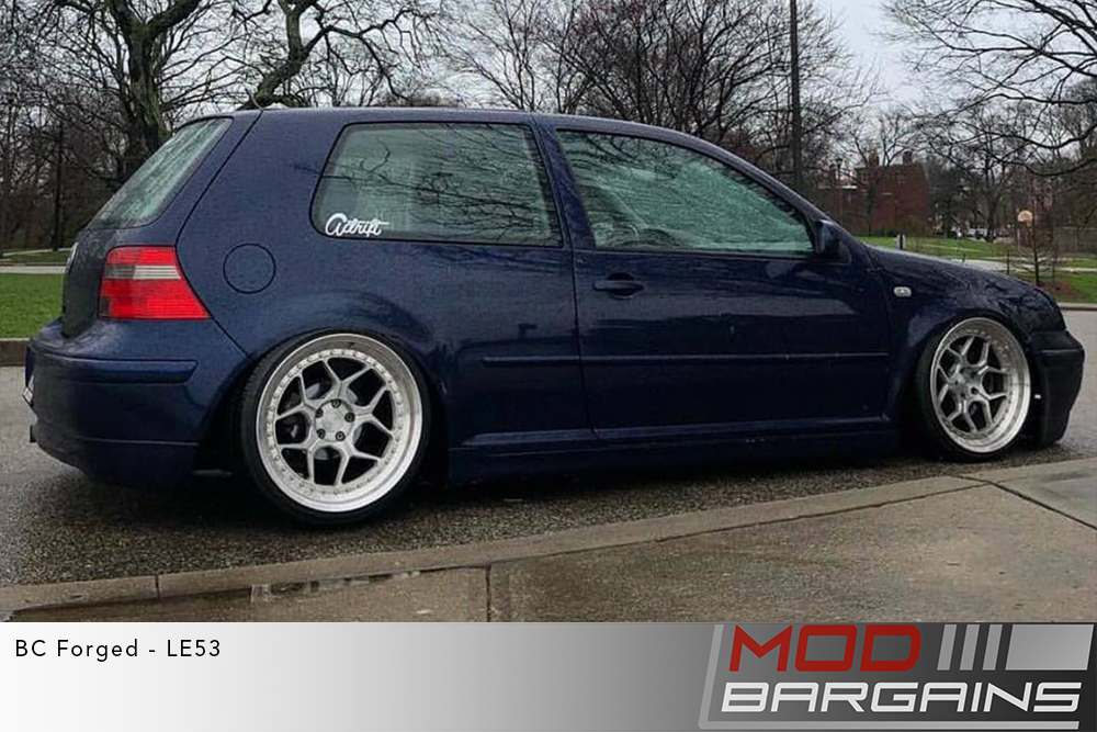 Blue VW MK4 GTI on 20 inch BC Forged LE53 Wheels toyo tires Modbargains