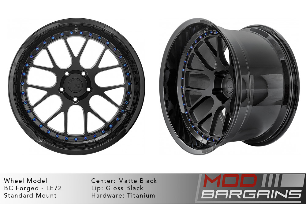 BC Forged Modular LE72 Wheels Modbargains