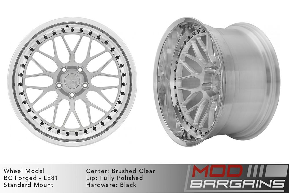 BC Forged Modular LE81 Wheels Modbargains