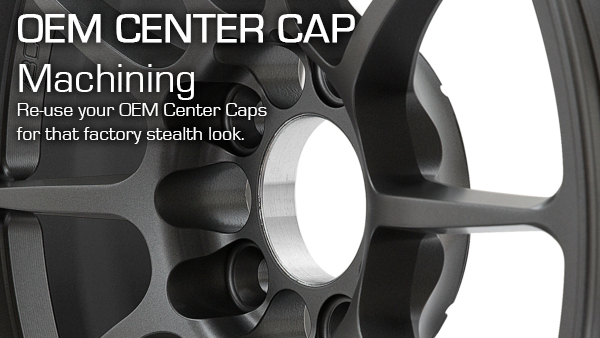BC Forged OEM Center Cap Machining