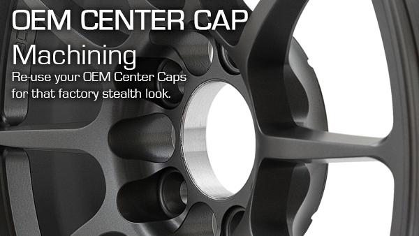 BC Forged OEM Center Cap Machining