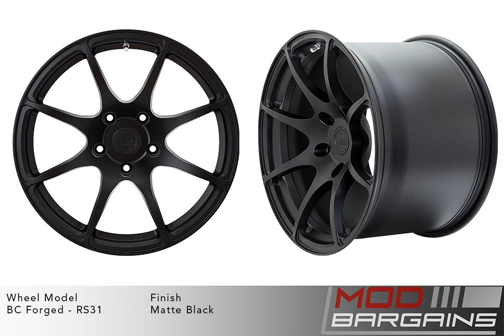 BC Forged RS31 Monoblock Forged Aluminum Split 5 Spoke Concave Wheels Brushed Blue Modbargains
