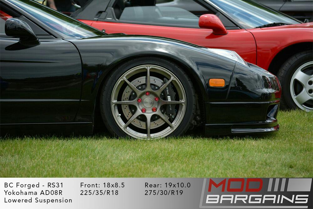 Acura NA1 NA2 NSX BC Forged RS31 Gunmetal Wheels Modbargains