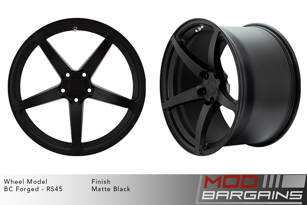 BC Forged RS45 Monoblock Forged Aluminum 12 Spoke Concave Wheels Gloss Bronze Modbargains