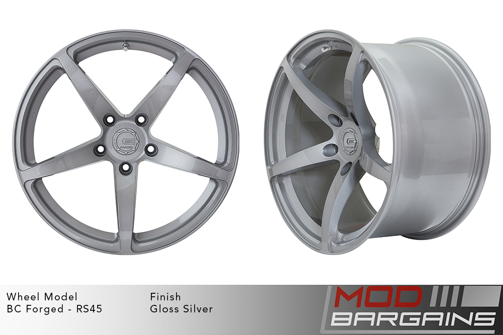 BC Forged RS45 Monoblock Forged Aluminum 12 Spoke Concave Wheels Brushed Brown Crystal Coffee Modbargains