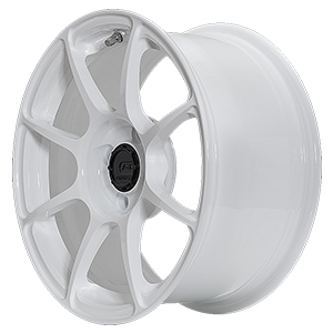 BC Forged RV01 Monoblock Wheel Gloss White