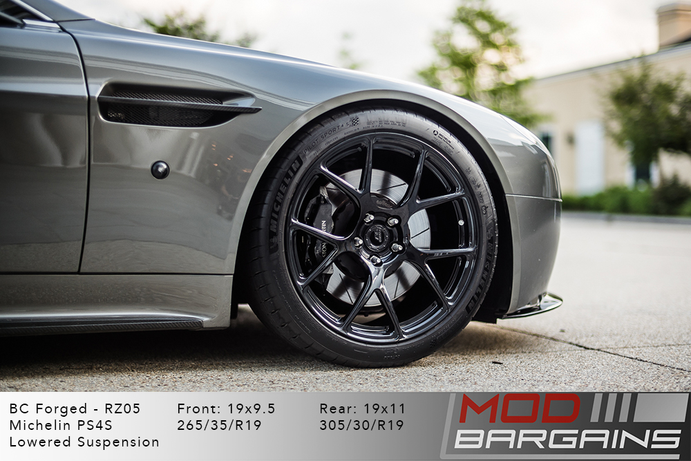 Aston Martin Vanquish BC Forged RZ05 Gloss Black Wheels Modbargains
