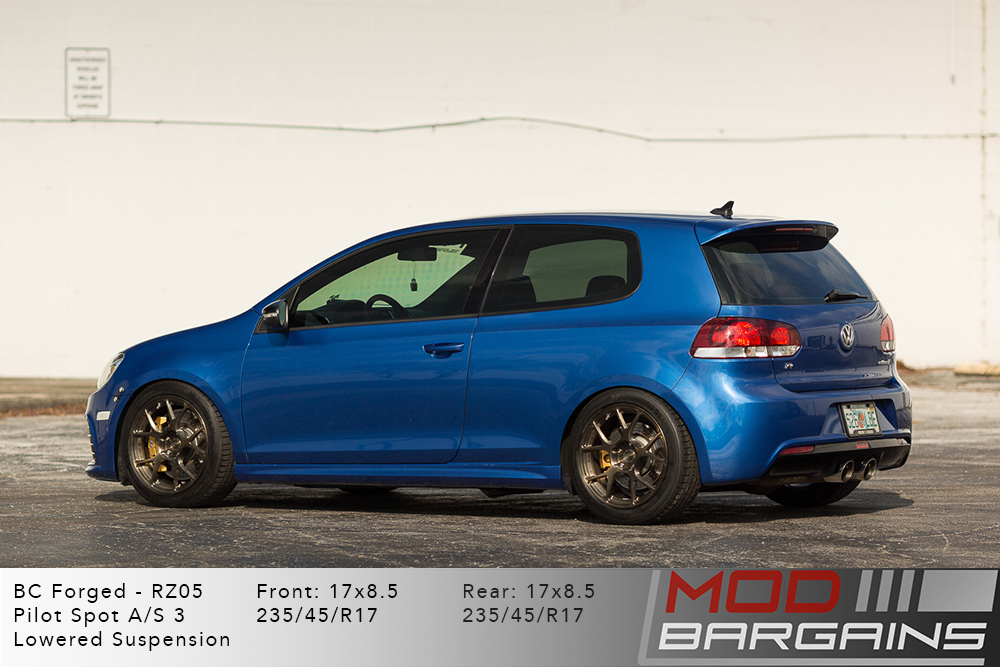 VW MK7 Golf R BC Forged RZ05 Brushed Bronze Wheels Modbargains