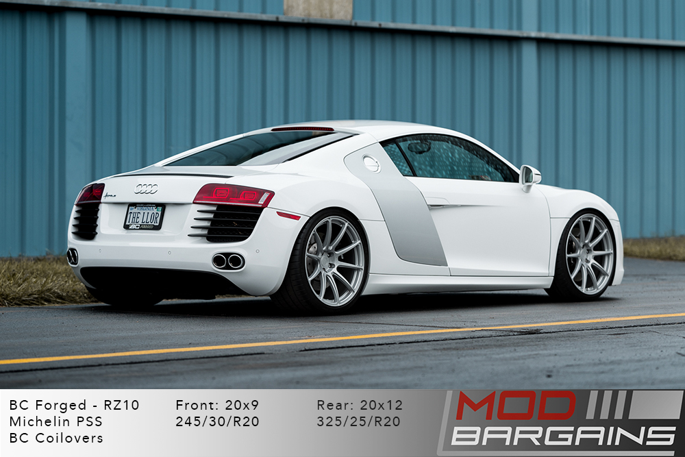 Audi R8 BC Forged RZ10 Wheels Modbargains