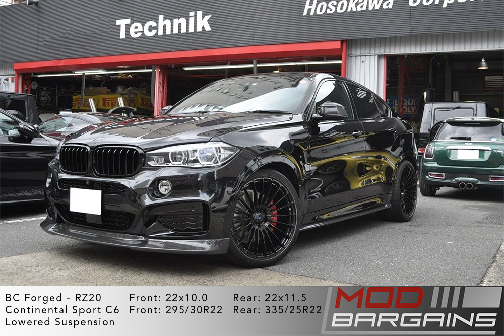 BMW F16 X6 50i BC Forged RZ20 Wheels 22 inch Modbargains