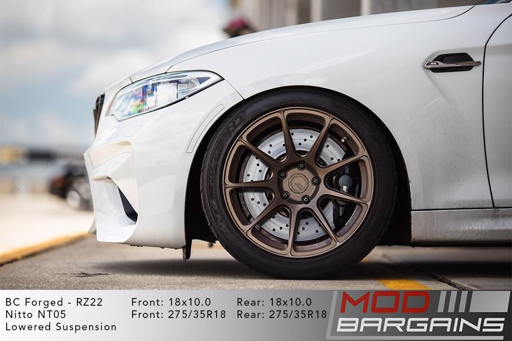 BMW F87 M2 BC Forged RZ39 Bronze Wheels Modbargains