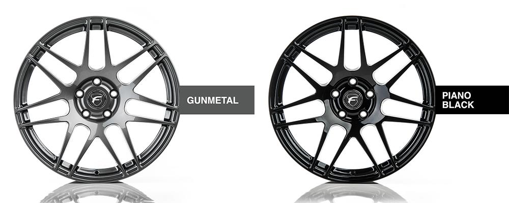 Forgestar Wheel Color Options Gunmetal Piano Black Modbargains