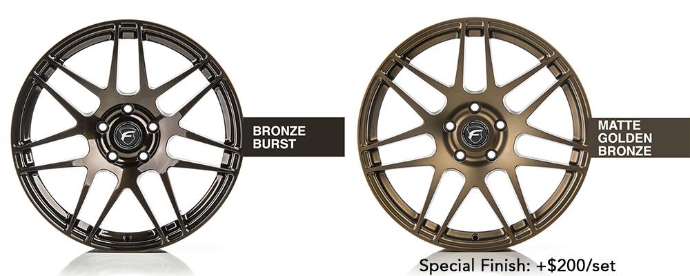 Forgestar Wheel Color Options Bronze Burst Matte Golden Bronze Modbargains