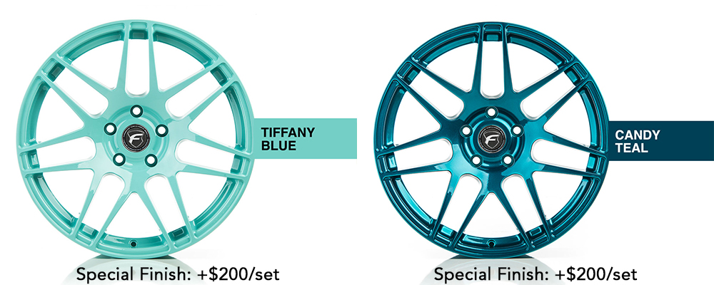 Forgestar Wheel Color Options Tiffany Blue Candy Teal Modbargains