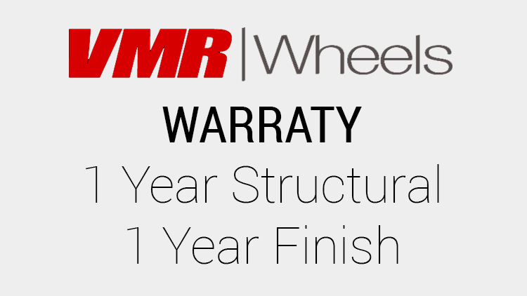 VMR Wheel Warranty Info