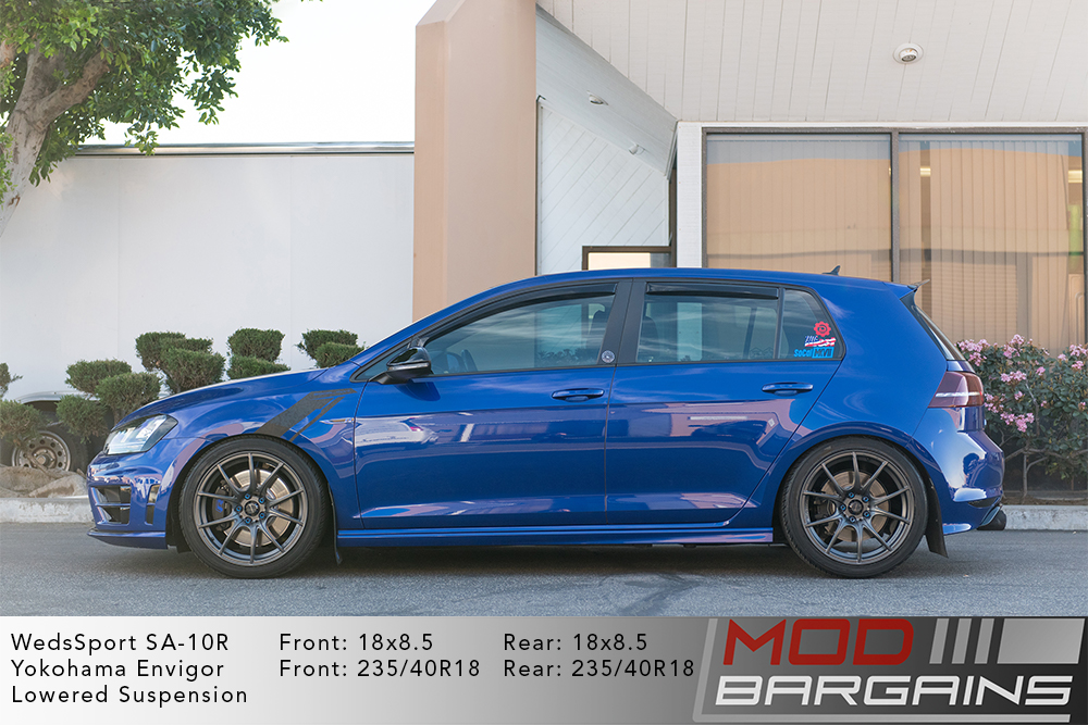 WedsSport SA-10R Racing Wheels VW MK7 Golf R Gunmetal Wheels Modbargains
