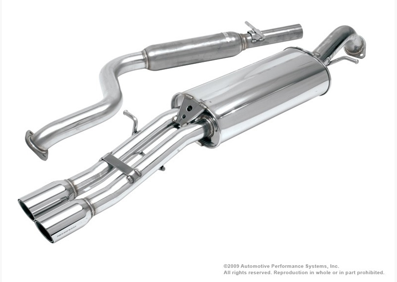 Neuspeed Cat-back Exhaust for VW @ ModBargains.com
