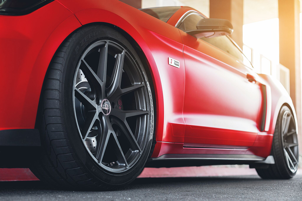 305Forged FT 101 Wheels Ford Mustang S550 (2)