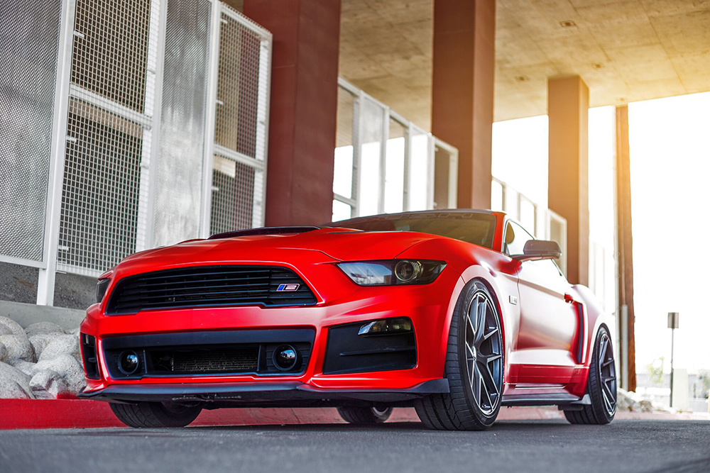 305Forged FT 101 Wheels Ford Mustang S550 (4)