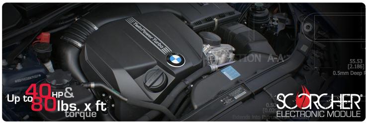 SCORCHER Module for BMW X5 [E70] 2009-2013 M57 #77-46308