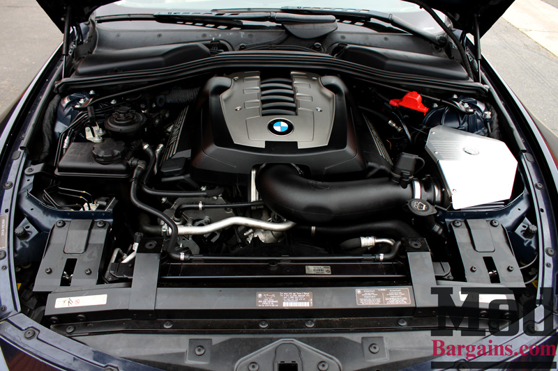 aFe Intake Installed on BMW E60