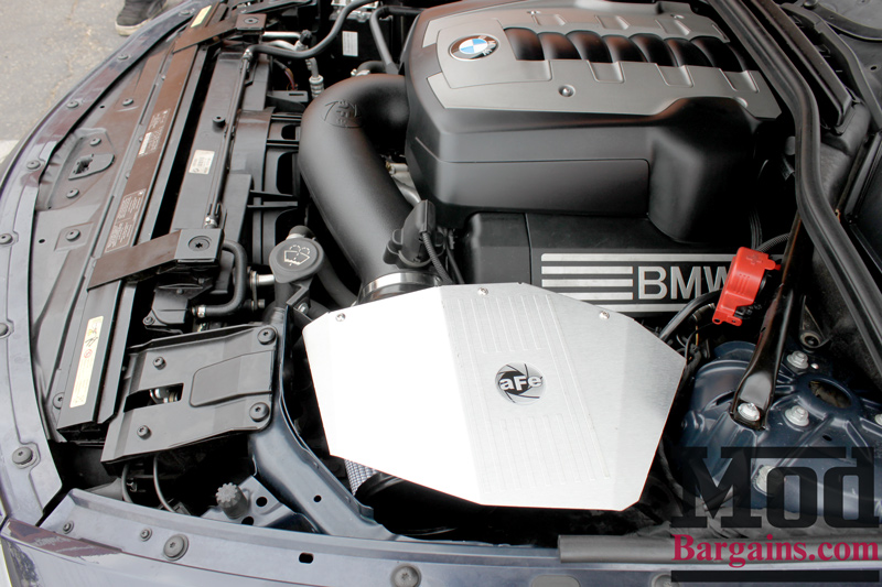 aFe Intake Installed on BMW E60 (3)