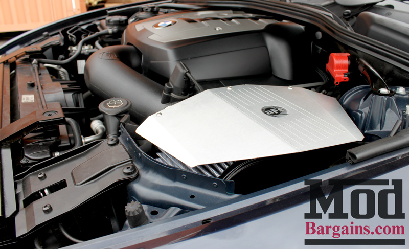 aFe Intake Installed on BMW E60 (4)