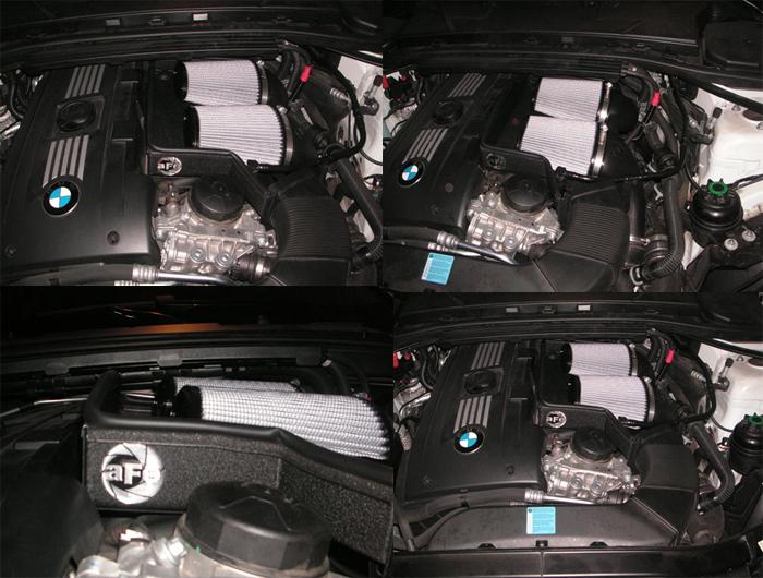 aFe Power Magnum Force Stage-2 Intake for BMW 335i 1M 535i Z4 35i N54 Twin Turbo 3.0L at ModBargains.com installed 3