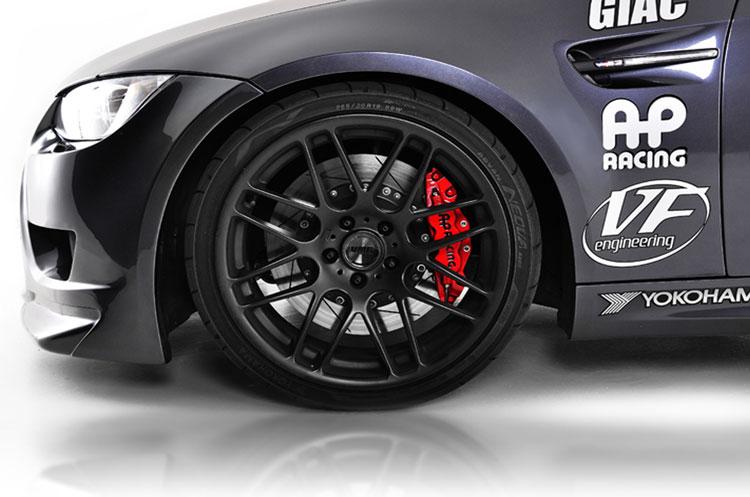 AP Racing BMW M3 Red Calipers