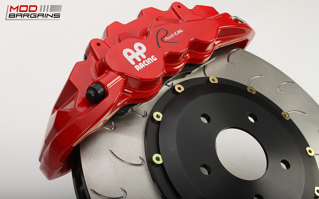 AP Racing Radi-CAL BBK Red Caliper w/ J-Hook Rotor