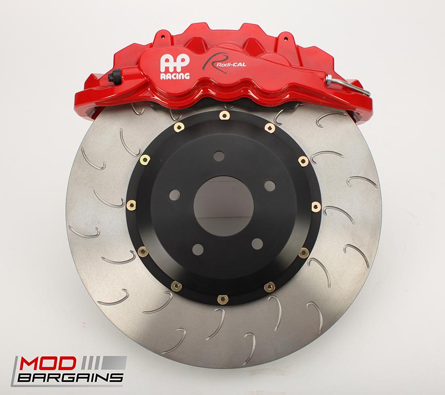 AP Racing Radi-CAL Red BBK w/ J-Hook Rotor