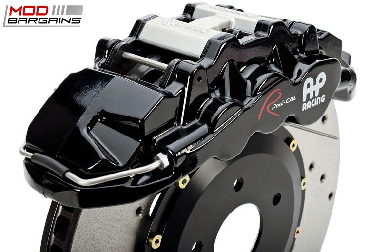 AP Racing Radi-CAL Black BBK w/ Cross-Drilled and Slotted Rotor