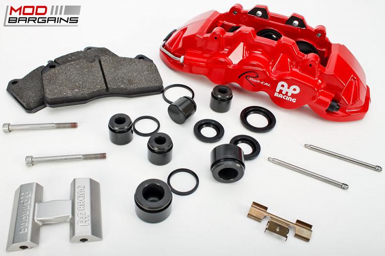 AP Racing Radi-CAL BBK Red Caliper Assembly