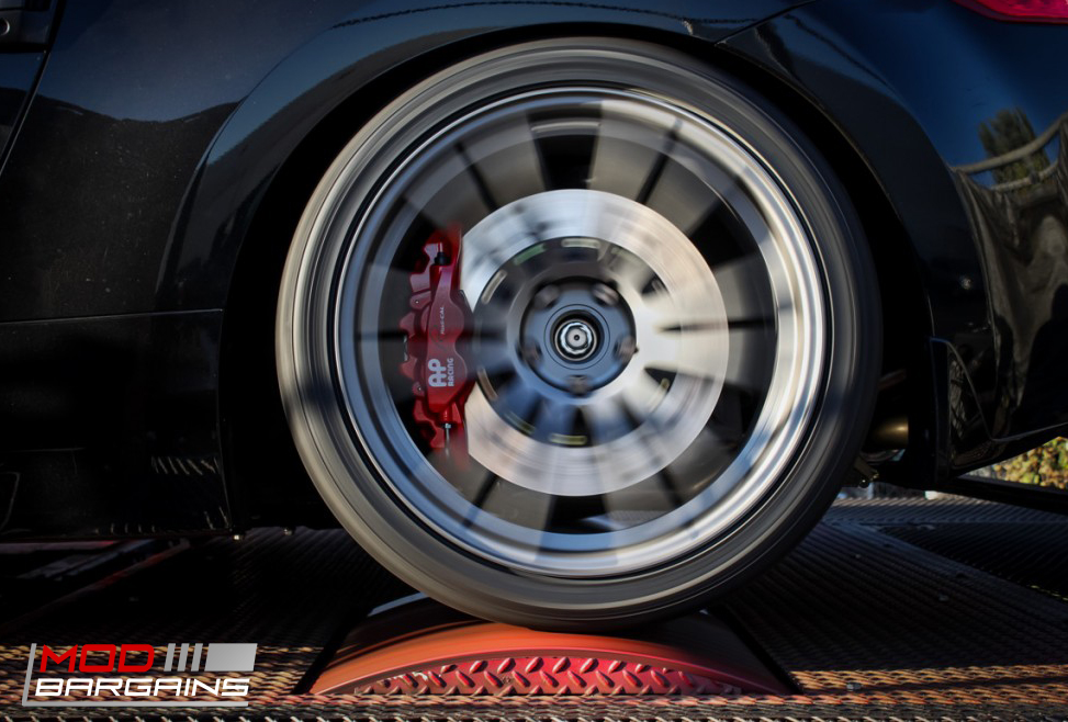 AP Racing Radi-CAL Rear BBK Red Caliper