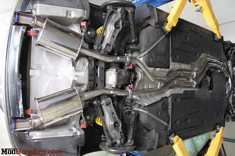 HKS 335i Exhaust System Full Stainless Steel