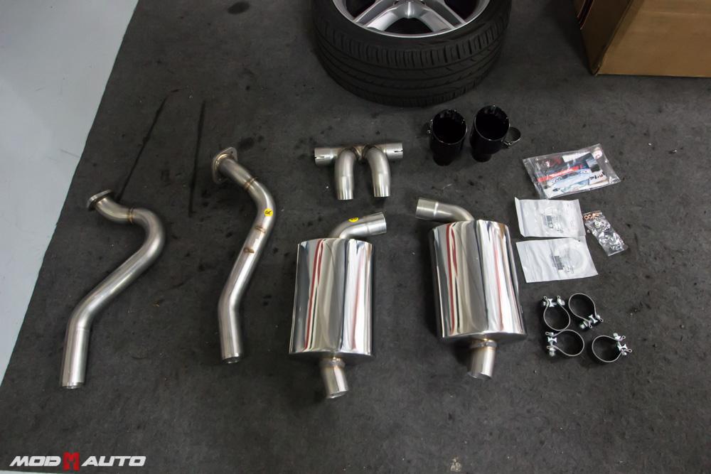 AWE Performance Exhaust Porsche Boxster Cayman 3010-32020 3010-33024 black tips