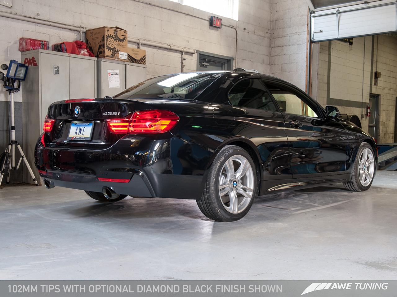 BMW 435i AWE Exhaust 3015-33058 3010-32026