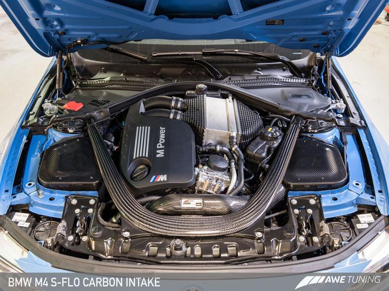 modbargains awe tuning f80 m3 f82 m4 modauto S-flo Carbon intake 2660-13038