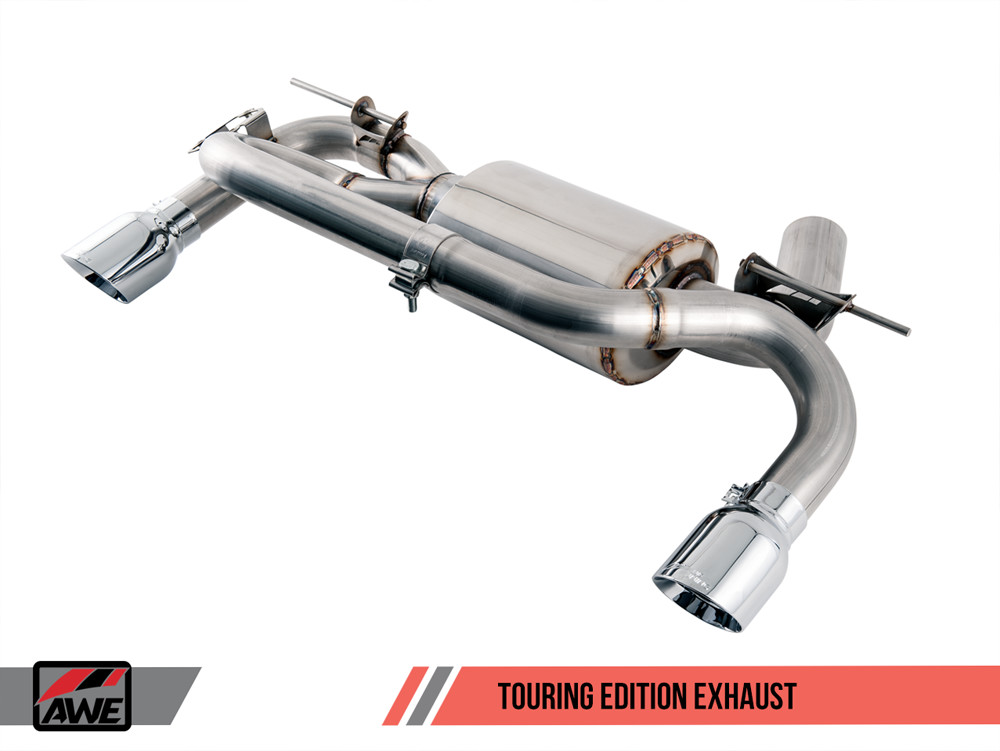 AWE F22 2-Series M235i M240i Tuning Exhaust Touring Edition Axleback Section