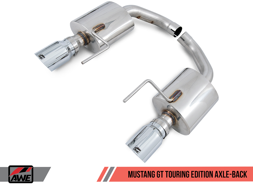 AWE Tuning Axle-Back Exhaust Touring Edition