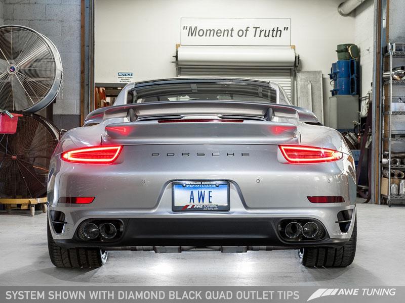 Porsche AWE Tuning Exhaust