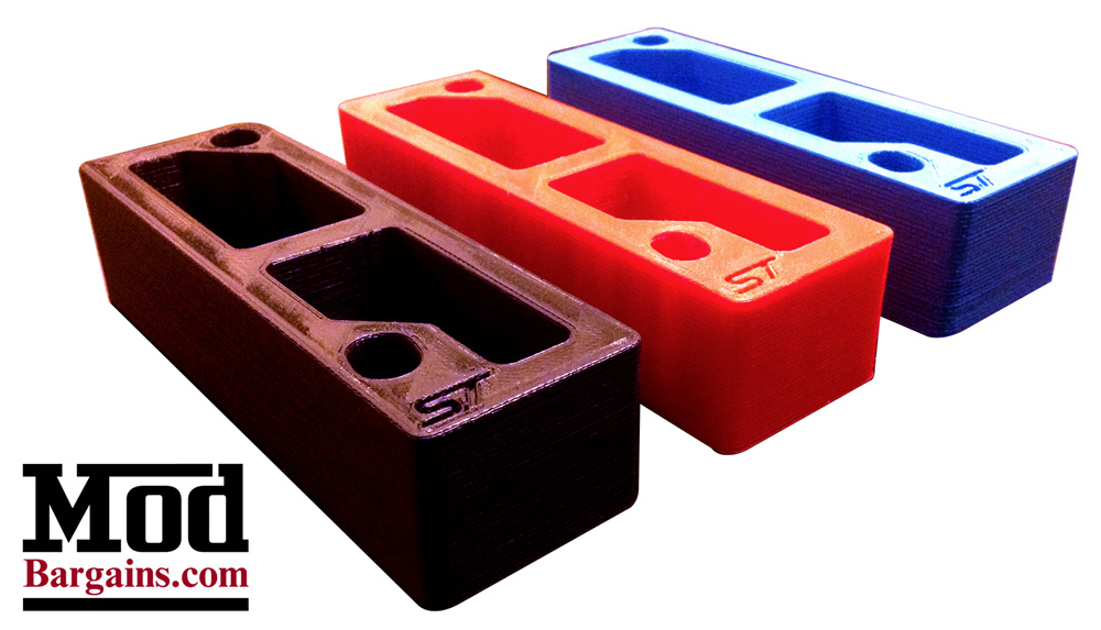 Accelerator Pedal Spacer for Ford Focus ST + Fiesta ST by Active Shift Designs at ModBargains.com 2