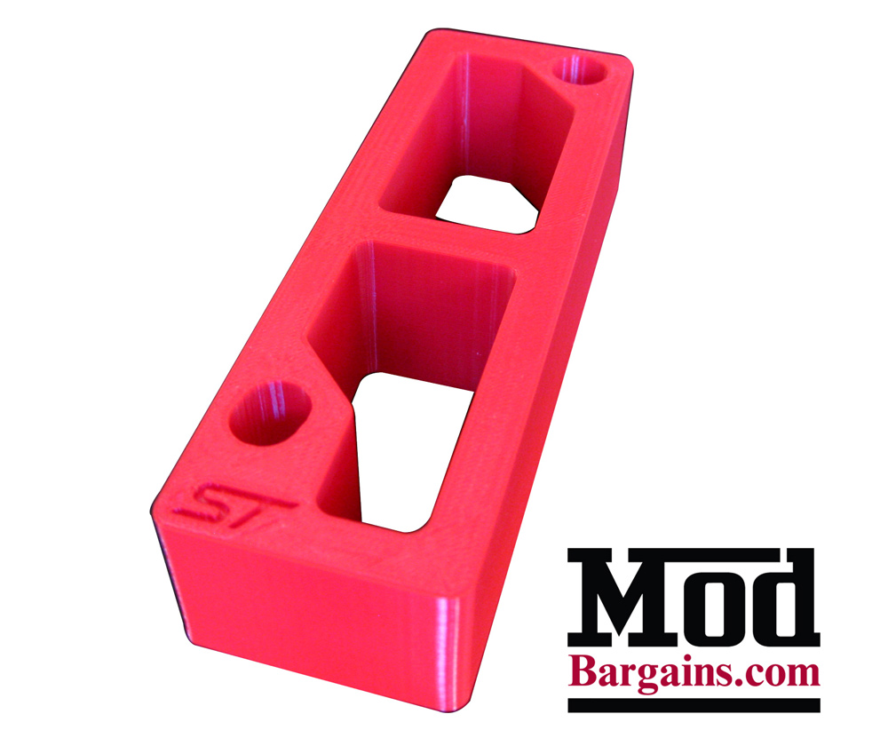 Accelerator Pedal Spacer for Ford Focus ST + Fiesta ST by Active Shift Designs at ModBargains.com 3