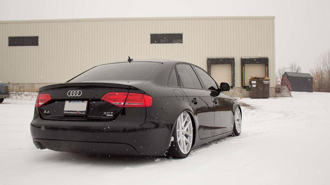 Air Lift Performance Kit Installed on Audi A4 B8 (3)