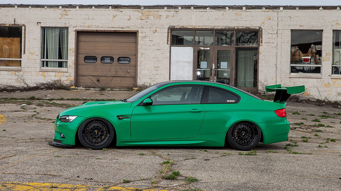 Air Lift Performance Kit Installed on BMW M3 E92 - 78511