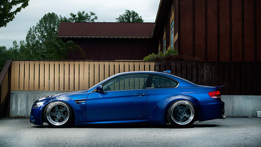 Air Lift Performance Front Kit Installed on BMW E92 - 78552