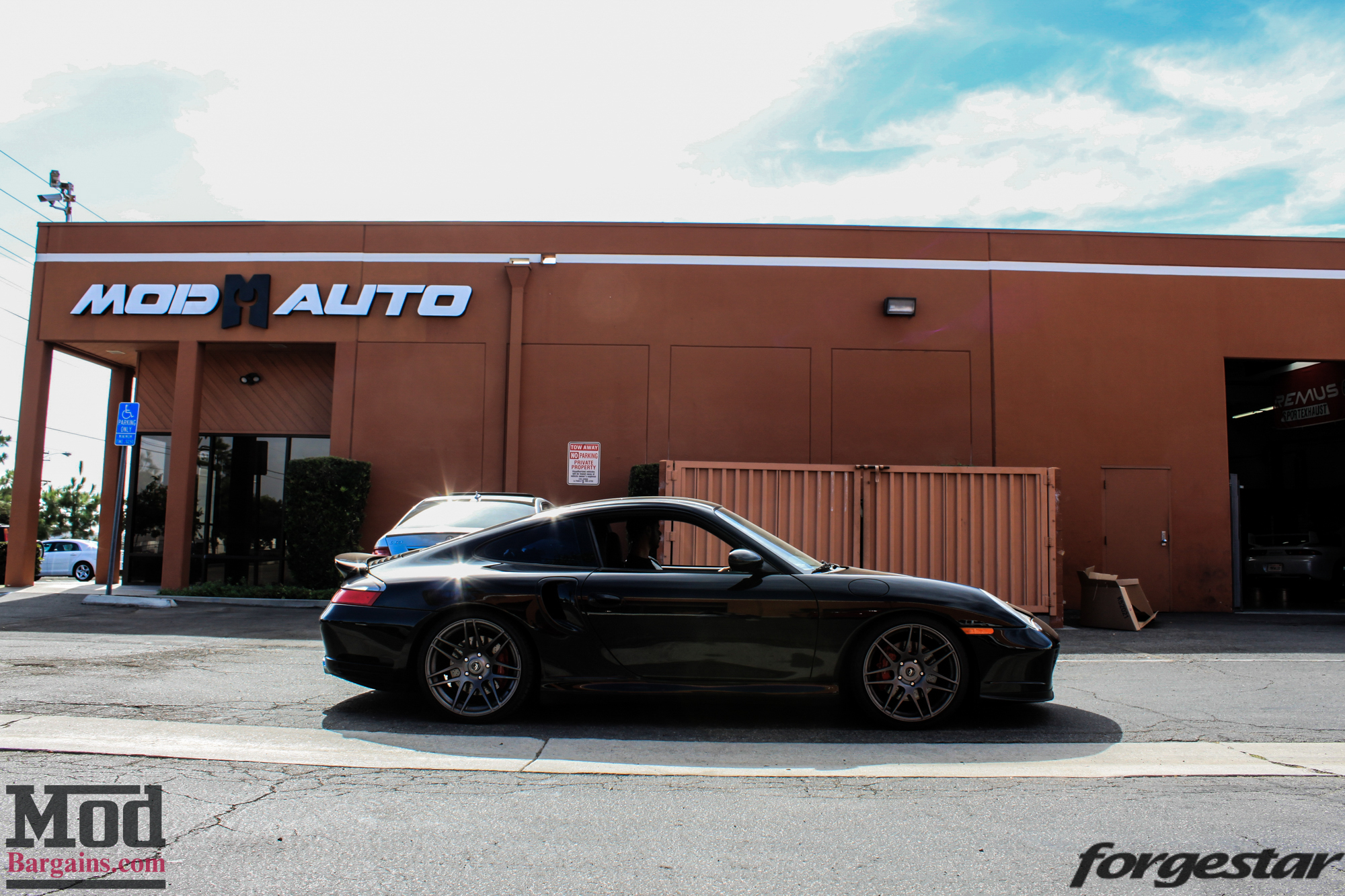 AirRex Air Suspension Installed on Porsche 997 at Mod Auto